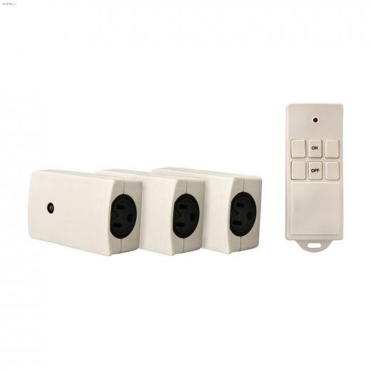 Indoor White Wireless Remote Control 3