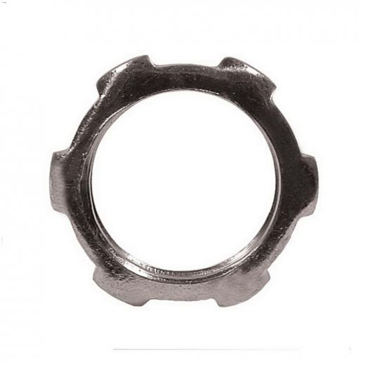 "1\"" Steel Rigid Locknut-5\/Pack"