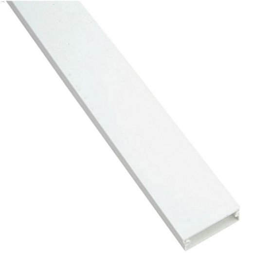 """White 60\"""" Flat Wire Cover"""