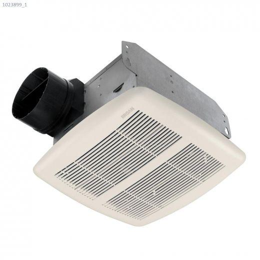 80 CFM 2.0 Sones Bathroom\/Ventilation Fan