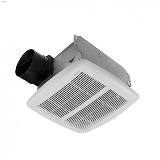 80 CFM 1.5 Sones Bathroom\/Ventilation Fan