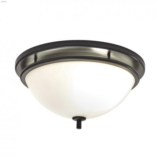 70 CFM 2.0 Sones Decorative Bathroom\/Ventilation Fan Light