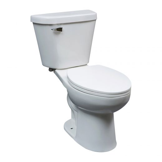 Chicago 6 L White 1.6 gpf Elongated Front 2-Piece Toilet