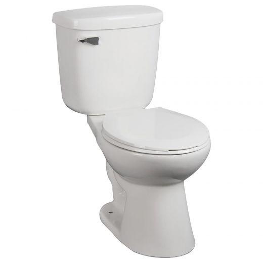 Albany White 1.6 gpf 2-Piece Toilet
