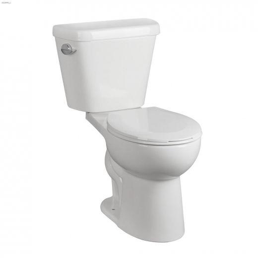 Winnipeg White 1.01 gpf Super Water Saving 2-Piece Toilet