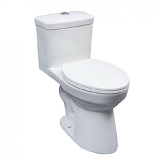 Atlanta 1.06 1.6 gpf Elongated Front 1-Piece Toilet