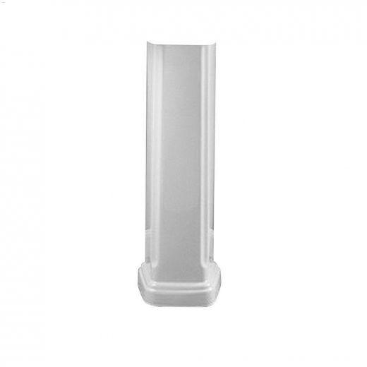 "9\"" Vitreous china White Portsmouth Pedestal Sink Leg"