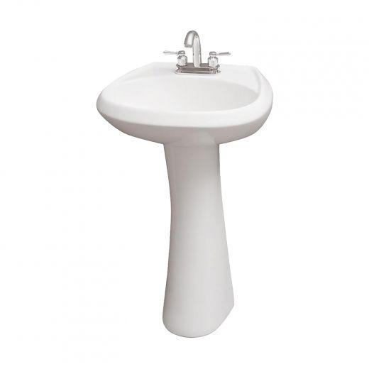 """22"""" x 18"""" Pedestal Sink"""