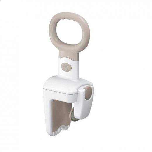 Glacier White PVC SecureLock Tub Grip