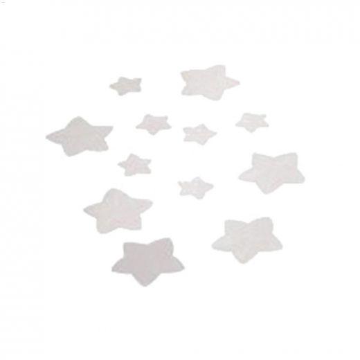 Glacier White PVC Safety Tread Stars