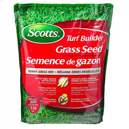 Turf Builder\u00ae 1 kg Grass Seed Sunny Area Mix