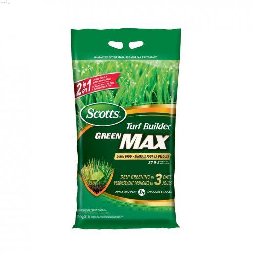 11.4 kg Green Scotts\u00ae Turf Builder\u00ae Green Max\u2122 Lawn Food