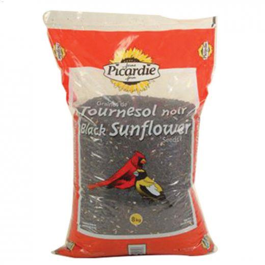 8 kg Treated Black Sunflower Seed