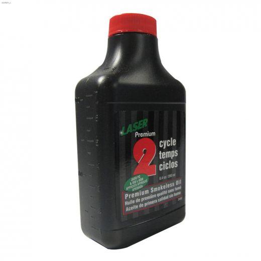 6.8 oz\/200 mL Dyed Blue Premium Smokeless 2-Cycle Oil