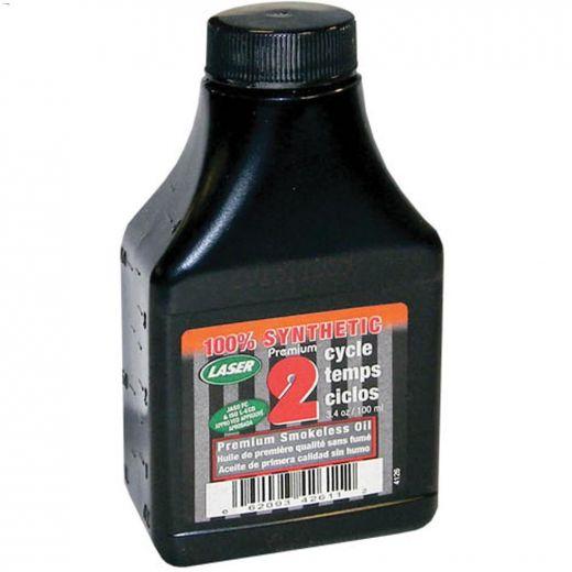3.4 oz\/100 mL Premium Smokeless Synthetic 2-Cycle Oil