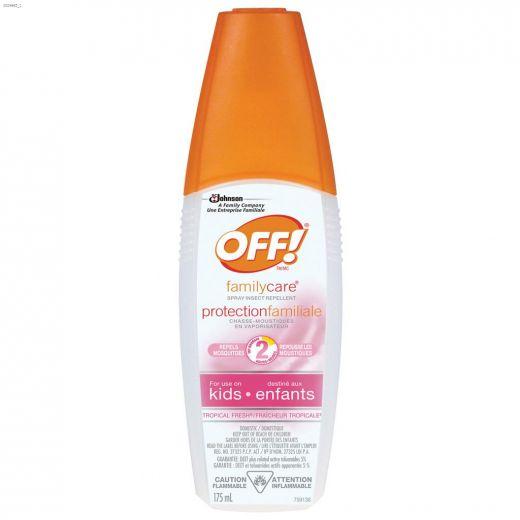 Off!\u00ae Familycare\u00ae 175 mL 2 hr Insect Repellent Spray