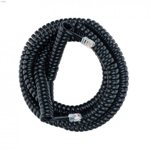 25' Coiled Phone Cord