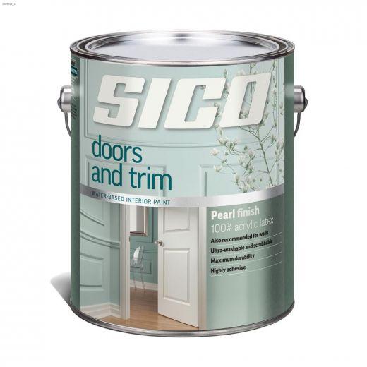 1 L Interior Latex Doors & Trim Paint