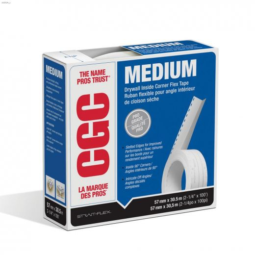 Medium Composite 100 Drywall Corner Tape