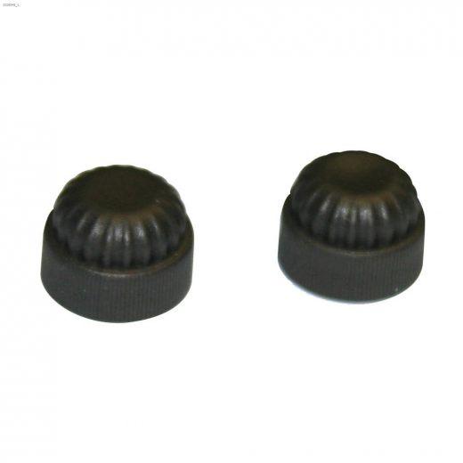 """1\"""" Plastic Caps-2\/Pack"""