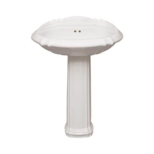 "27"" x 20"" Miami Pedestal Sink"