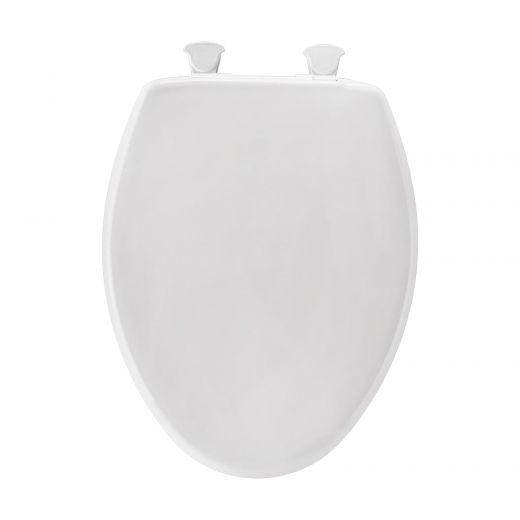 Elongated Plastic Toilet Seat