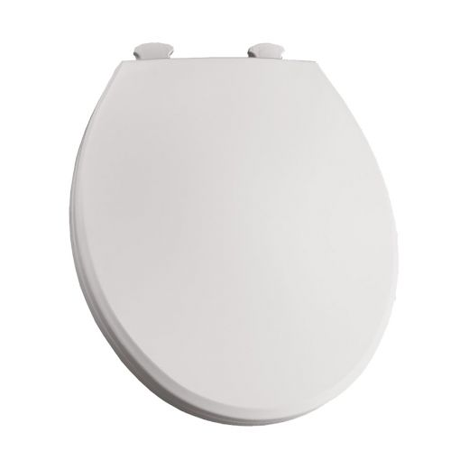 Easy Clean and Change Round Plastic Toilet Seat