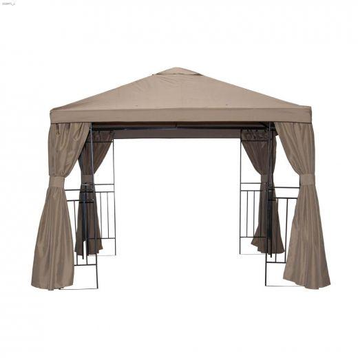8' x 8' Arch Gazebo Canopy