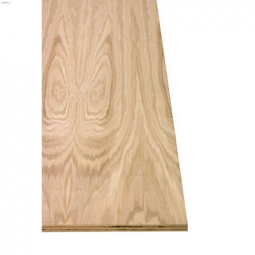 """3\/4\"""" x 4' x 8' GOOD-1-S Oak Plywood"""