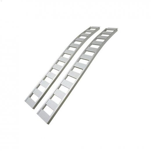 """90\"""" x 12\"""" 1500 lb Non-Folding Arched Loading Ramp"""