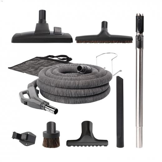 30' Deluxe Hose Tool Set For Central Vacuum System