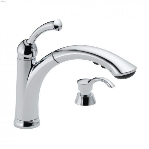 1-Handle Lewiston\u00ae Pull-Out Kitchen Faucet