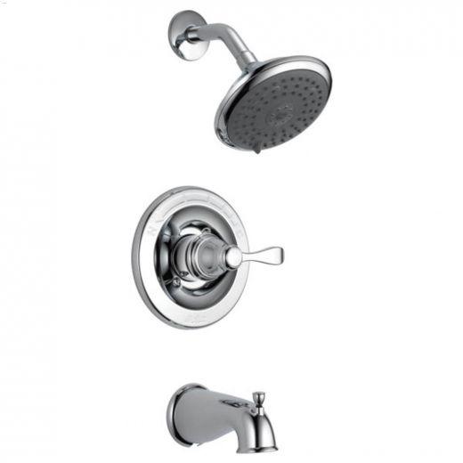 1-Handle Chrome Lever Porter\u00ae Tub & Shower Trim