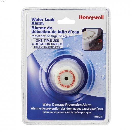 White Plastic Single Use Water Leak Alarm