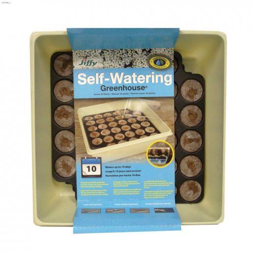 7-Pallets Capillary-Mat Self Watering Greenhouse