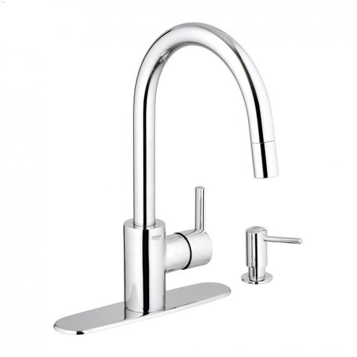 1-Handle Feel Pull-Down Kitchen Faucet