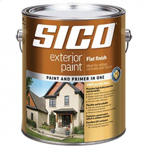 1 L 100% Acrylic Flat Exterior Latex Paint