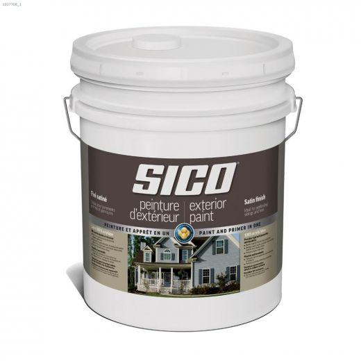 9 L 100% Acrylic Satin Exterior Latex Paint