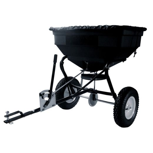 125 lbs Tow-Behind Spreader
