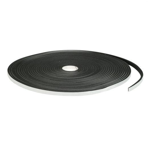 """3/16"""" x 3/8"""" x 50' Black Closed Cell Foam Tape"""
