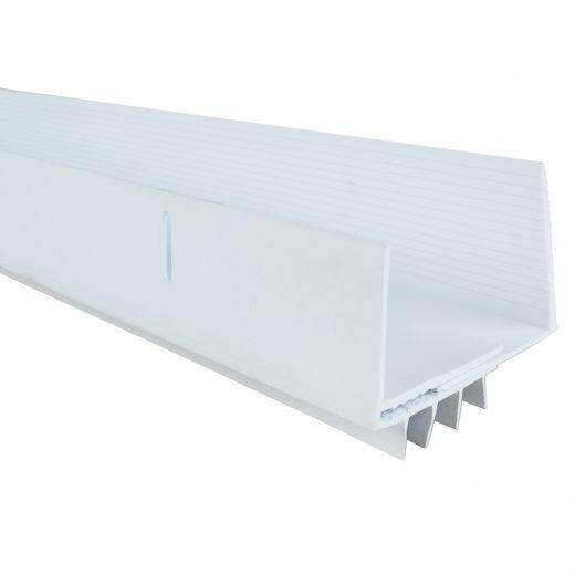 "36"" White Adjustable U-Shape Door Sweep"