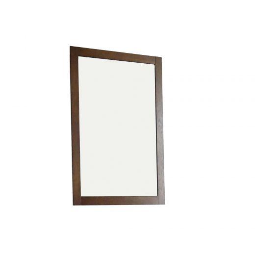 "18"" Pewter Framed Mirror"