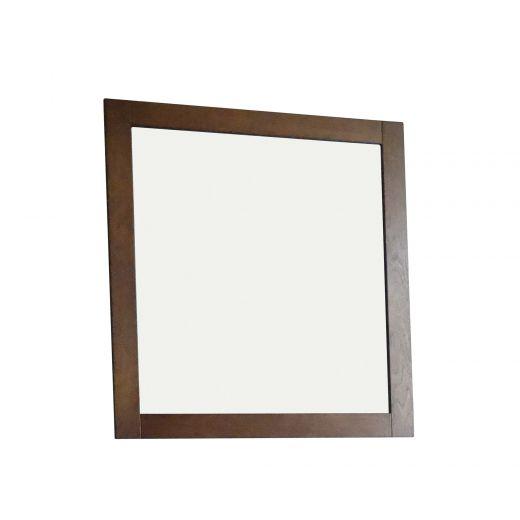 "30"" Weathered Oak Mirror"