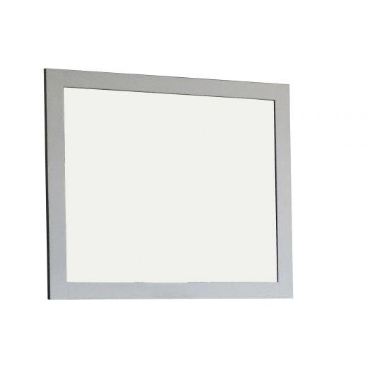 """36"""" White Mirror"""