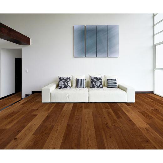 """6.5"""" Caramelized Hickory Engineered Hardwood (37.4sf)"""