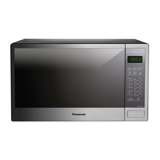 Mid-size Genius Microwave Stainless Finish
