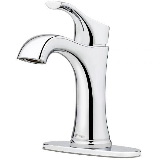"""Auden 4"""" Single Handle Chrome Lavatory Faucet"""
