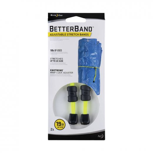 "Betterband Adjustable Stretch Bands 19"" - Neon Yellow"