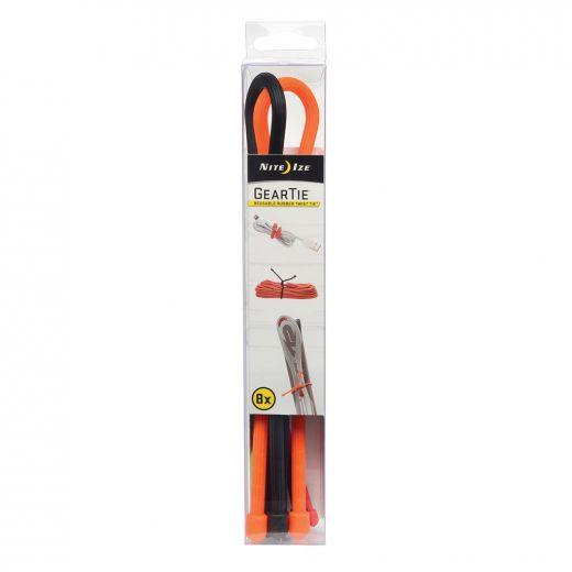 Gear Tie Reusable Rubber Twist Tie Assortment