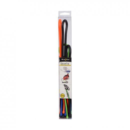 Gear Tie Reusable Rubber Twist Tie Tube Assortment
